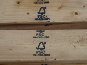 FSC Wood on site