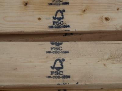FSC Wood on site